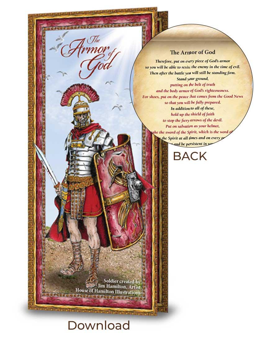Armor of God card
