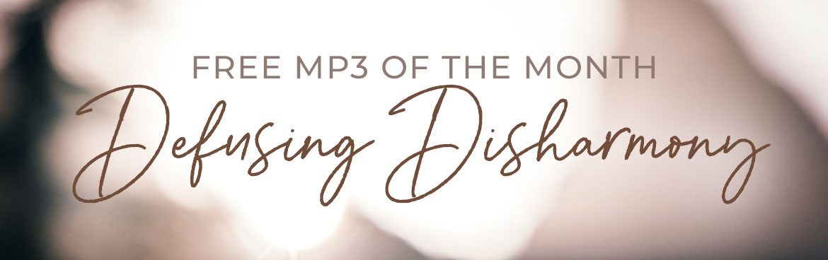 Free MP3 of the Month: Defusing Disharmony