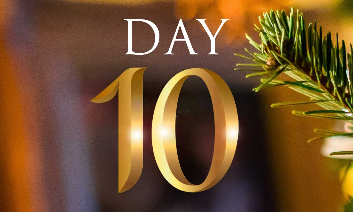12 Days of Christmas Study: Day 10
