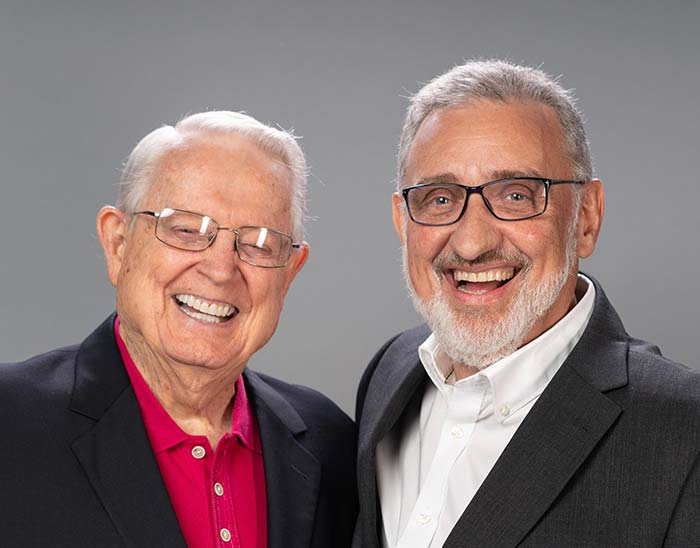 Chuck Swindoll and Fernando Bochio