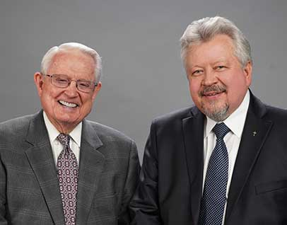 Chuck Swindoll and Peter Mitskevich