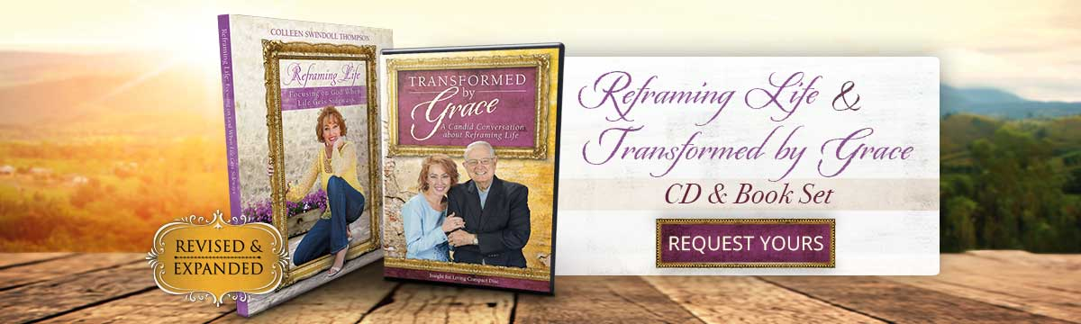 Transformed by Grace CD & book set ... REQUEST YOURS